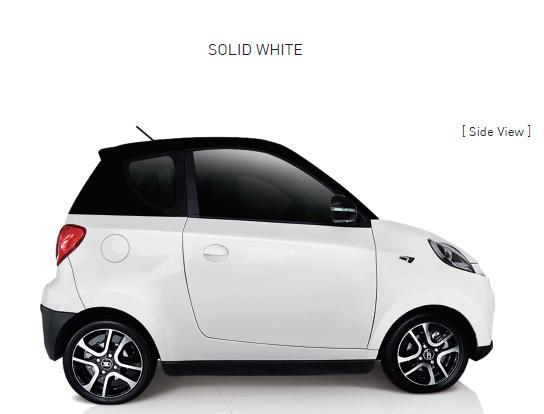 Auto Elettrica City Car ZD D2s white