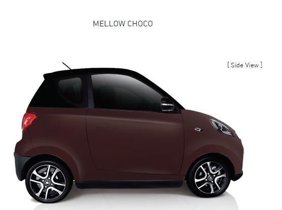 Auto Elettrica City Car ZD D2s choco