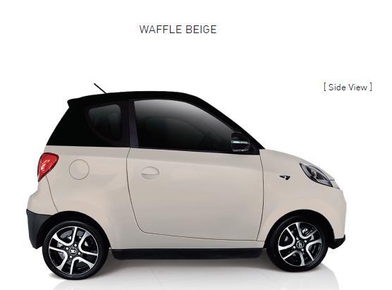 Auto Elettrica City Car ZD D2s waffle