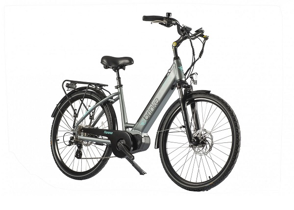 bicicletta elettrica brinke florence