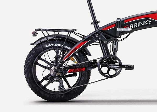 biciclette elettriche pieghevoli brinke cerbero