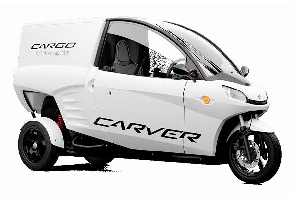 veicoli da lavoro elettrici carver cargo