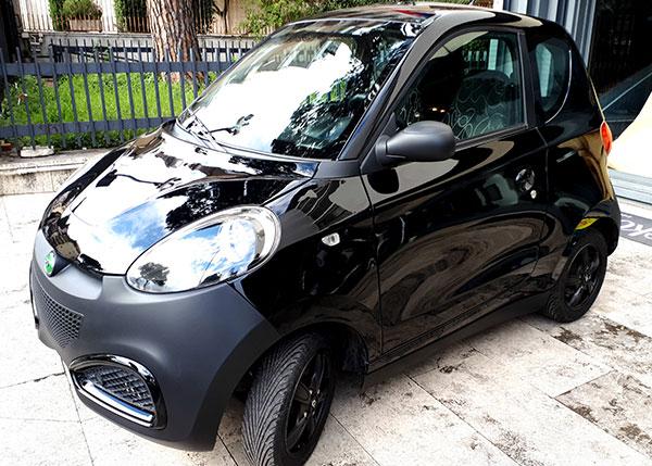 ZD D1 usata ex car sharing nera