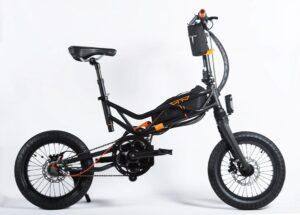 bicicletta pieghevole flod elettrica Trilix