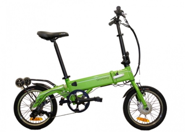 bicicletta elettrica Grunberg Green Falter