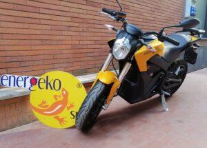 moto elettrica zero s gialla usata