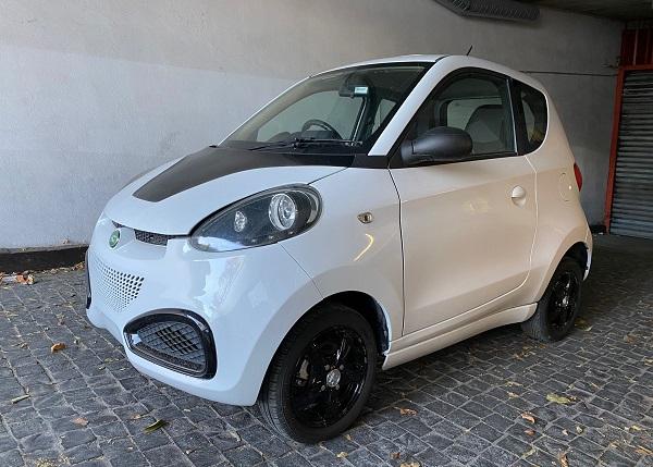 City car ZD D1 Usata bianca